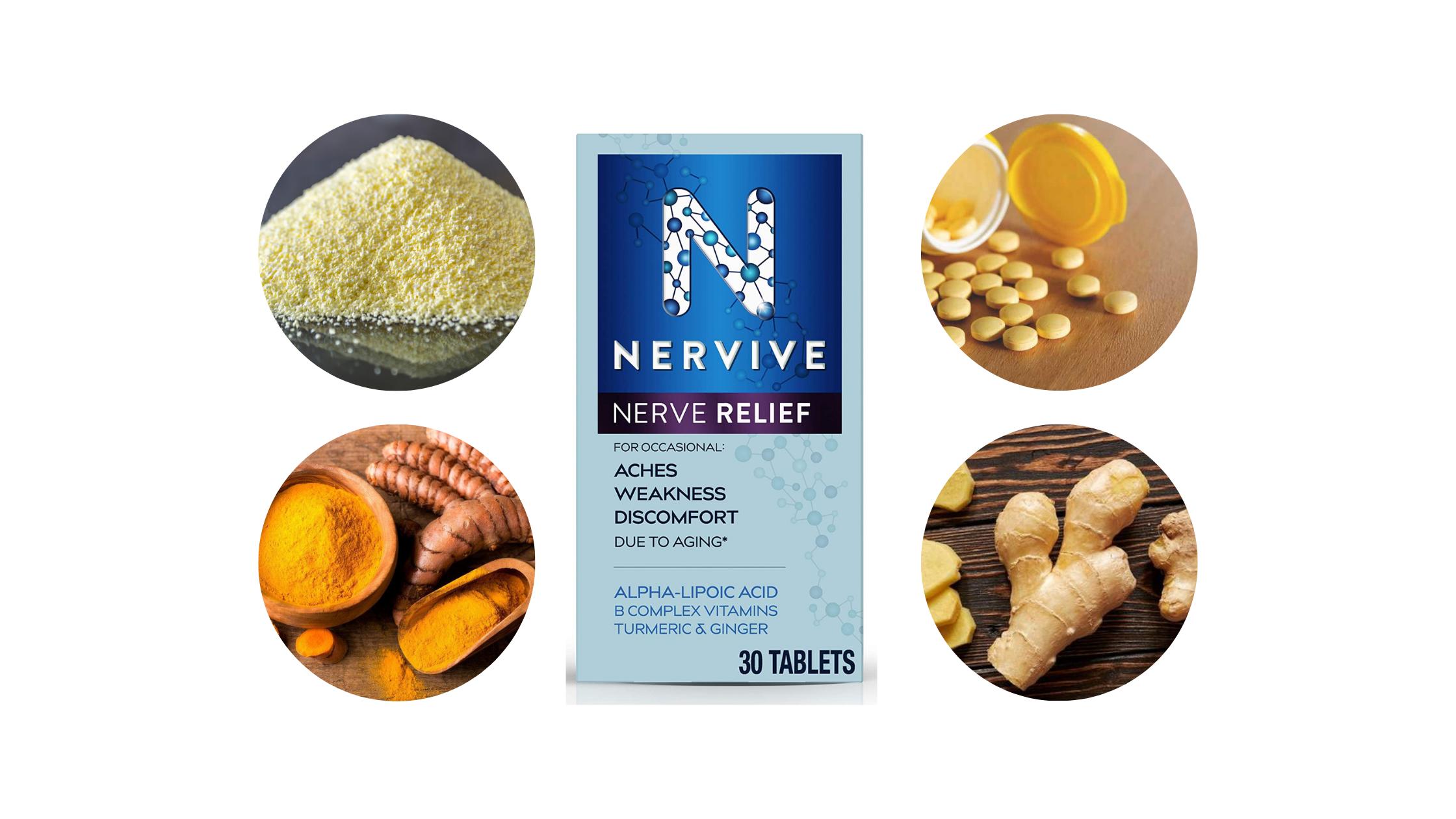 Nervive Nerve Relief Capsule Ingredients